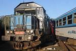 Vlaková nehoda ve Kdyni a transport pacientů