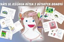 Malby a kresby přání dětí z dětských domovů.