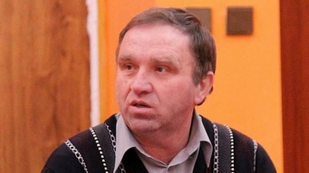 Odstupující předseda VV OFS Domažlice Karel Sladký.