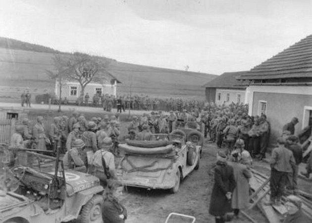 Kapitulace německých vojsk ve Všerubech.