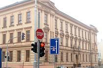 Základní škola v domažlické Komenského ulici.
