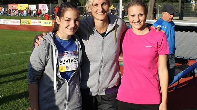 Bára Špotáková se vloni v Domažlicích vrátila k závodění. Chybět nebude ani při 7. ročníku Hvězdného házení.