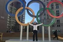 Kateřina Beroušková si atmosféru olympijských her užívá naplno. První závodní start ji čeká již zítra v 8.15 našeho času.