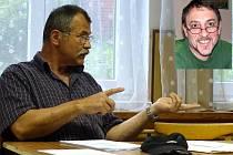 Vlastimil Jankovský (vlevo) navrhl odvolat starostu Karla Smutného.