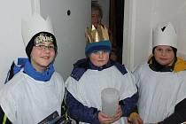 Tři králové v Koutě na Šumavě.
