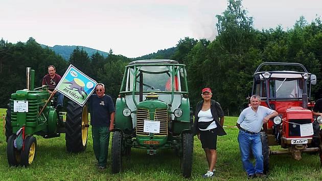 Milovníci starých strojů vyrazili na setkání do Německa.