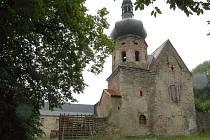 Klášterní kostel v Pivoni.