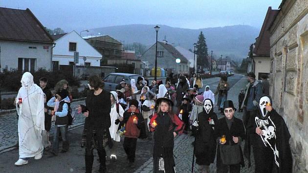 Z Halloweenu Bahňáků a Hejkálků z PS Safír Kdyně.