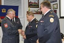 Valná hromada hasičů na Folmavě.