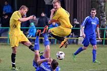 Fotbalisté Meclova v prvním jarním utkání I. B třídy deklasovali Postřekov, druhý tým tabulky.