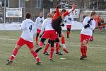 K několika bavorským celkům, které absolvují zimní přípravu na domažlické Střelnici, patří 1. FC Bad Kötzting. Minulý týden se tu Velkoborský, Kotáb a spol. utkali se Slavojem Koloveč (1:0) a v sobotu vyzvali Holýšov (5:0).