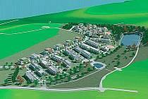 NOVÁ OBYTNÁ ZÓNA. Na Bábě v Domažlicích by podle plánu architekta Ladislava Schejbala mohlo bydlet až šest set lidí.