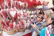 Z trhu na Chodských slavnostech