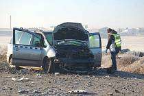 Prosincová nehoda u Staňkova.