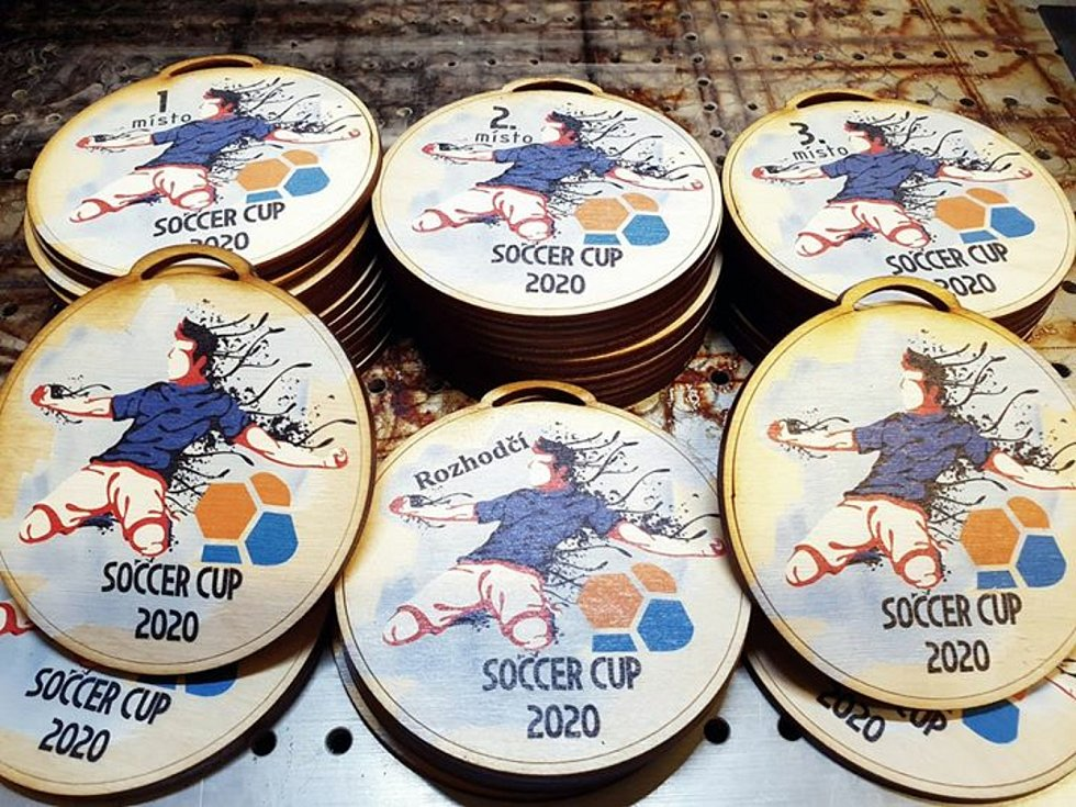 Soccer Cup 2020: medaile. Reprofoto: fb soccercup