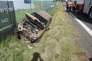 Nehoda u Evobusu.