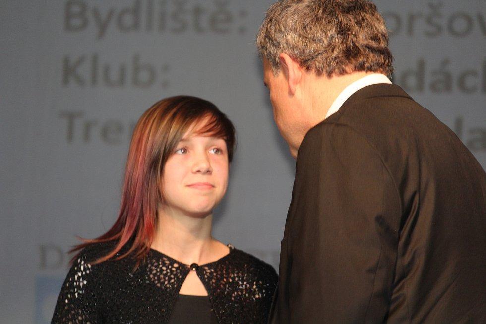 Mládež do 18 let - jednotlivci (bez vyhlášení pořadí): vodní slalomářka Markéta Hojdová.
