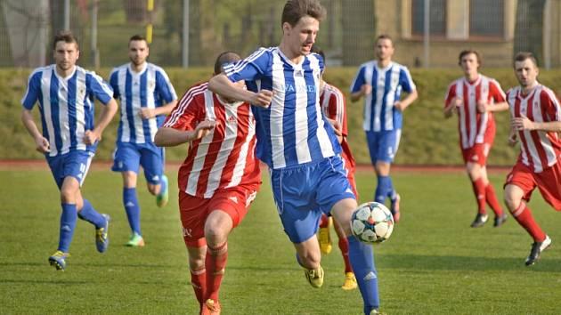 Fotbalisté Jiskry si s nevyzpytatelným soupeřem ze Záp připsali tři body za vítězství.