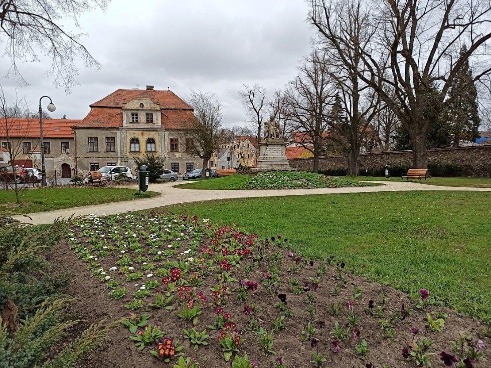 Jaro v Domažlicích.
