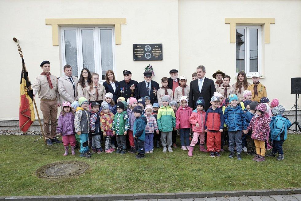 Návštěva belgických veteránů v Holýšově.