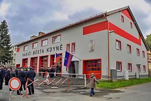 Slavnostní požehnání a otevření jedné z největších hasičáren na okrese.