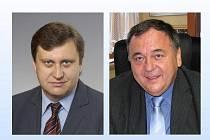 Poslanci Jan Látka (vpravo) a Vladislav Vilímec obhájili při volbách své posty v Parlamentu ČR.