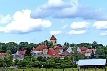 Pohled na město Poběžovice. Ilustrační foto.