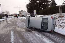 Nehoda v Blížejově.