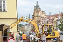 Stavební práce v rámci akce Čistá Berounka probíhají v Domažlicích od dubna.