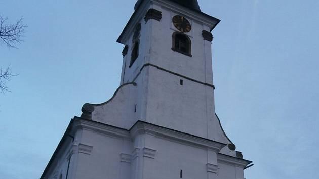 Pohled na Klenčí z kostela. Foto: Jiří Anderle