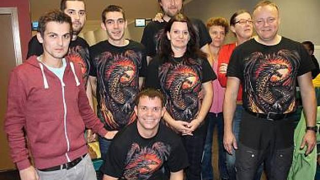 Účastníci Domažlické bowlingové ligy - Puntíci.