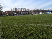 Stadion Střelnice po prvním utkání šampionátu.