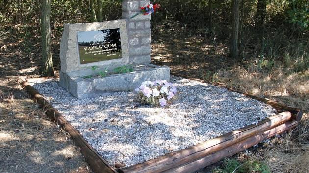 Současný stav památníku.
