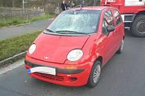 V Horšovském Týně srazilo osobní auto ženu