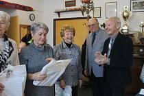 Výroční schůze Městské rady seniorů se konala 6. února v domažlické Sokolovně.