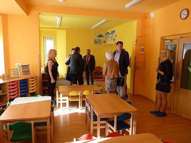 Nové Mateřské centrum Duhový svět v Horšovském Týně.