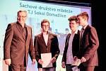 Vyhlášení Sportovce Domažlicka 2015 v Holýšově.