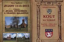 Nové knihy o Jivjanech, Velkém Malahově, Ostromeči a o Koutě na Šumavě.