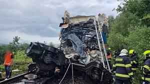 Železniční nehoda u Domažlic
