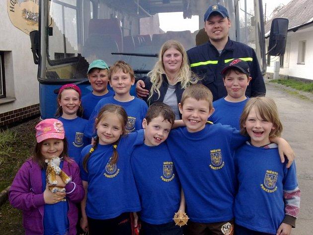 Tým Mladých hasičů SDH Poběžovice