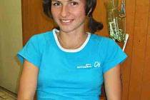 Kateřina Beroušková si užívá chvilku klidu před dalšími závody na evropský šampionát v běhu do vrchu v Německu.