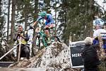 Lukáš Kobes si užil vrchol cyklisté sezóny v podobě Mistrovství světa  ve švýcarském Lenzerheide. Nakonec dojel na 42. místě.