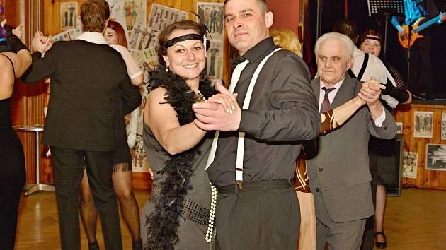 Městský ples v Poběžovicích.