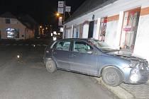 Nedělní nehoda ve Kdyni.
