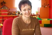 NADĚŽDA ZŮNOVÁ.  V Mateřské škole v Zahořanech působí už od roku 1983.  .