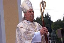 Plzeňský biskup Mons. František Radkovský.