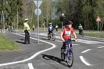 Okresní dopravní soutěž se konala 25. dubna.