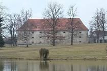 Barokní sýpka v Horšovském Týně.