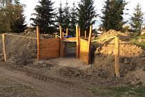 Průběh rekonstrukce zahrady v MŠ Staňkov.
