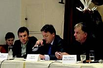 Z posledního letošního jednání zastupitelstva města Domažlic.
